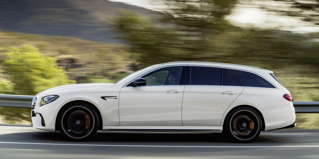 The 2018 mercedes amg e63 s wagon is the 603 hp family for Abc motor credit gilchrist rd