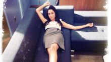 Meghan Markle's 'Suits' co-star shares never-before-seen photos of her lounging, wearing a robe on set