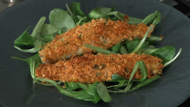 Branzino in crosta di corn flakes
