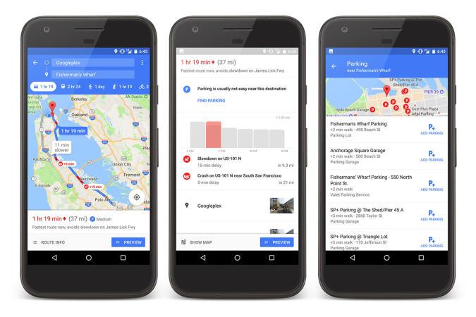 Google Maps ahora te ayuda a aparcar: te explicamos cómo funciona