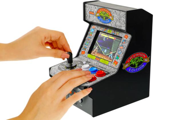 My Arcade's latest Micro Player is a 'Street Fighter II: Champion Edition' replica