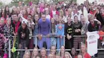 """North Olmsted High school students enter Katy Perry's 'Roar"""" contest"""