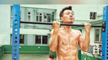 Wayne Lai says Moses Chan helped him with his abs training