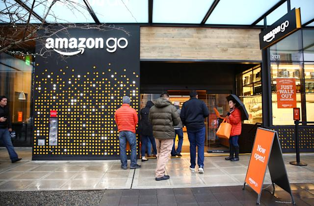 Amazon's checkout-free Go store is heading to New York