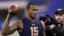 Deshaun Watson says there will be 'consequences' for taking Mitchell Trubisky over him