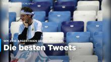 Argentinien gegen Kroatien: Die besten Tweets zum WM-Spiel