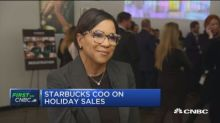 Starbucks cuts long-term earnings per share forecast; shares fall