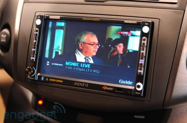 Audiovox in-car MediaFLO hands-on