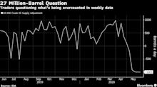 Oil Traders Are Asking Why U.S. Inventory Math Doesn't Add Up