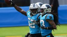 PHOTOS: Panthers take on the Los Angeles Chargers in week 3 of NFL action