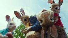 Rascally James Corden wreaks havoc in exclusive 'Peter Rabbit' trailer