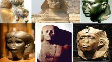 El motivo por el que muchas estatuas del Antiguo Egipto aparecen con la nariz rota