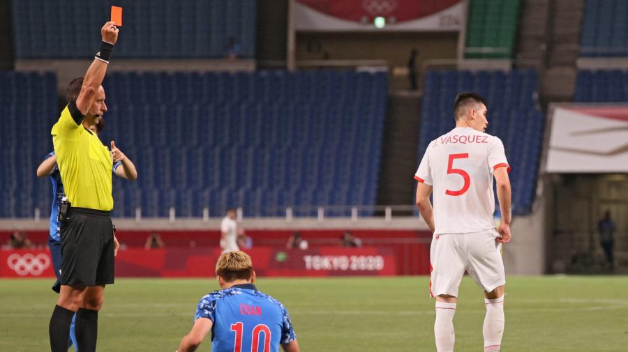 El único acierto y los cuatro errores de México en su derrota 2-1 vs Japón en los Juegos Olímpicos de Tokio