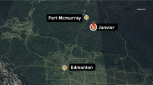 Wildfire no longer poses an immediate threat to northern Alberta community