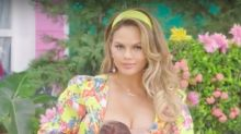 Chrissy Teigen Breastfeeds Daughter Luna In Fergie's New M.I.L.F.$ Video