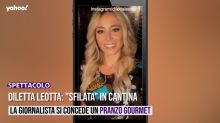 "Diletta Leotta: ""sfilata"" in cantina"