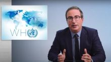 John Oliver blasts US withdrawal from WHO: 'Worst possible decision at worst possible time'