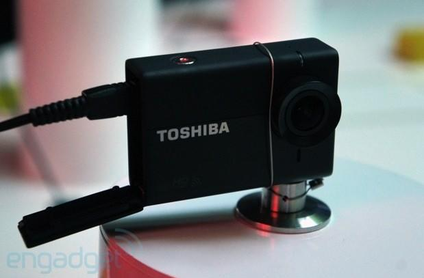 Toshiba takes on GoPro with its Camileo X-Sports action cam (hands-on)