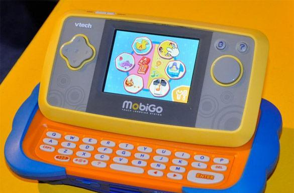 VTech launches kid-friendly MobiGo handheld gaming system, Flip e-reader