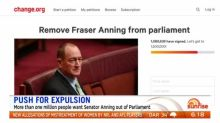 One million sign petition to push Senator Anning out of Parliament