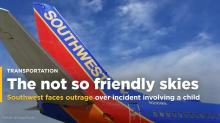 Southwest faces outrage after a father and toddler were kicked off a flight when the child threw a tantrum (LUV)