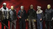 Six former Jason Vorhees actors don their original Friday The 13th costumes