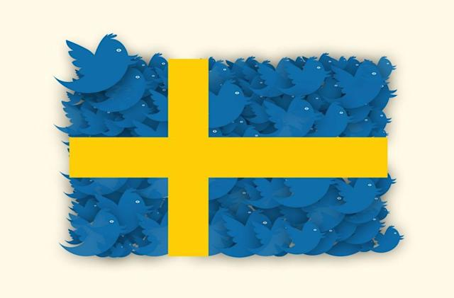 Sweden's official tweets won't come from citizens anymore