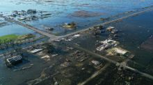 Dramatic aerial photos show devastation in Louisiana after Hurricane Delta