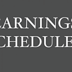 Earnings Scheduled For August 10, 2020