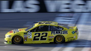 Joey Logano leads Ford sweep to win the pole