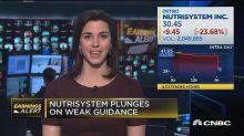 NutriSystem beats the Street