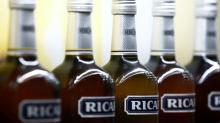 Pernod Ricard cautions of slower growth after stellar first-quarter