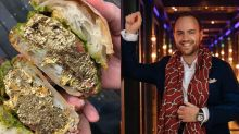 Would you spend £50 on a beef and 24 carat gold leaf sandwich?
