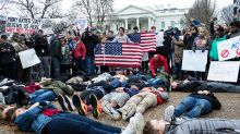 High Schoolers in Washington, D.C. Stage 'Lie-In' As Student Cry for Gun Reform Grows Louder