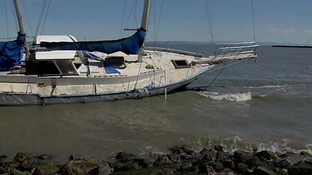 Strong winds destroy boats, cause flight pattern change