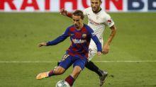 Foot - C1 - Barça - Compositions de Barça-Naples:Antoine Griezmann est bien titulaire, Lorenzo Insigne aussi