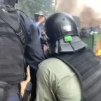 Hong Kong police arrest protesters amid violence