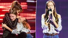 Heartwarming moment Delta Goodrem hugs Tourettes sufferer