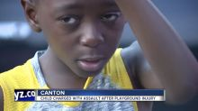 10-year-old boy charged with assault over dodgeball game: 'Our kids are racially targeted'