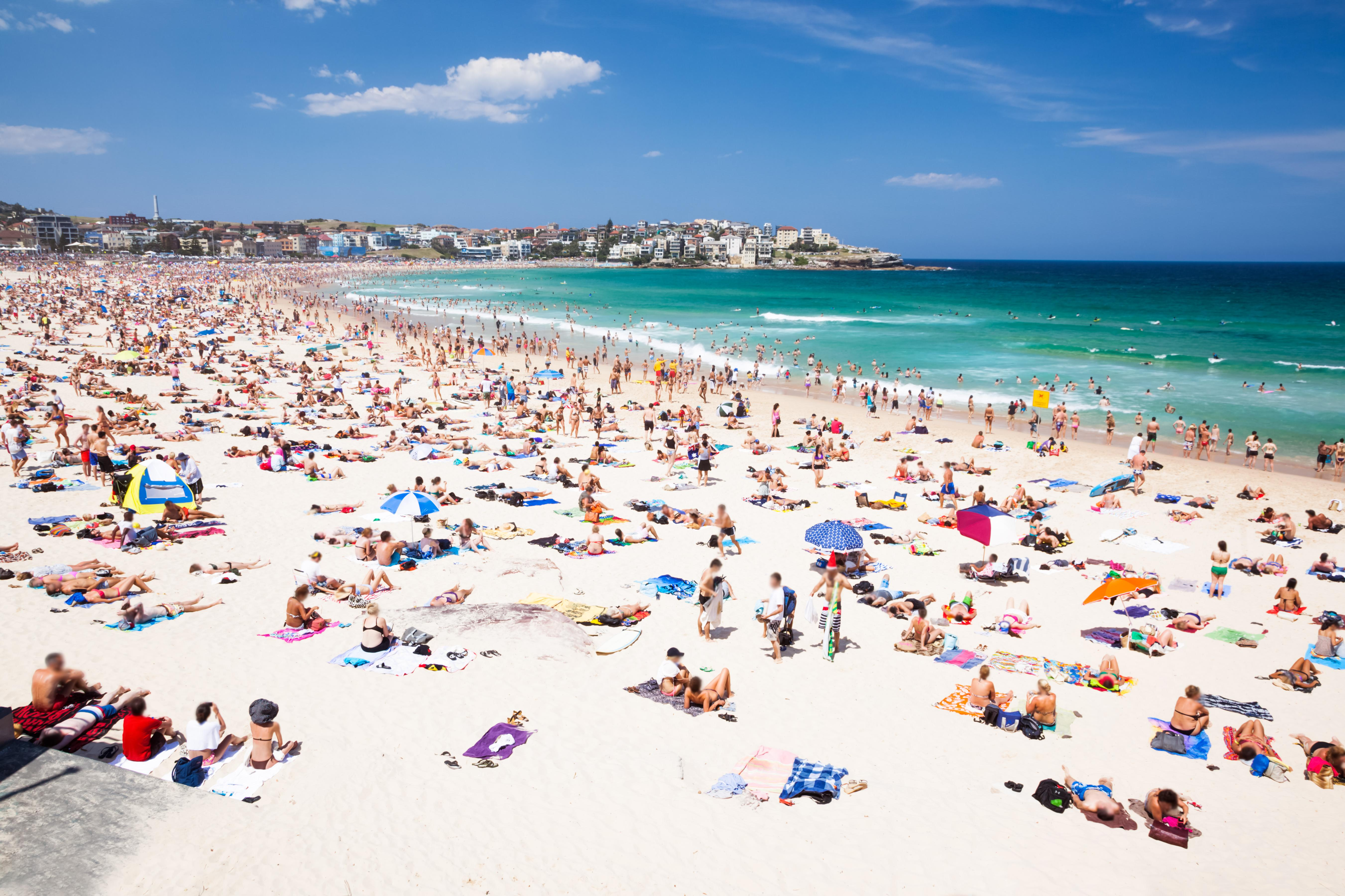 Australia Named And Bondi Beach