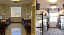 This might be the most beautiful uni room transformation ever