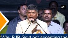 'Why BJP Govt not accepting the special status?': CM Naidu
