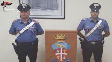 Agente arrestato dopo un controllo dei carabinieri per possesso di droga