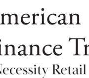 American Finance Trust Announces Second Quarter 2020 Results