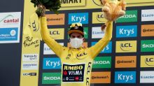 Ice-cool Roglic strengthens Tour lead, exhausted Bernal fades