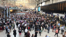 Waterloo delays: Major disruption for commuters as person struck by train and 'passenger incident'