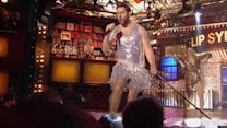 John Krasinski Channels Tina Turner During Lip Sync Performance