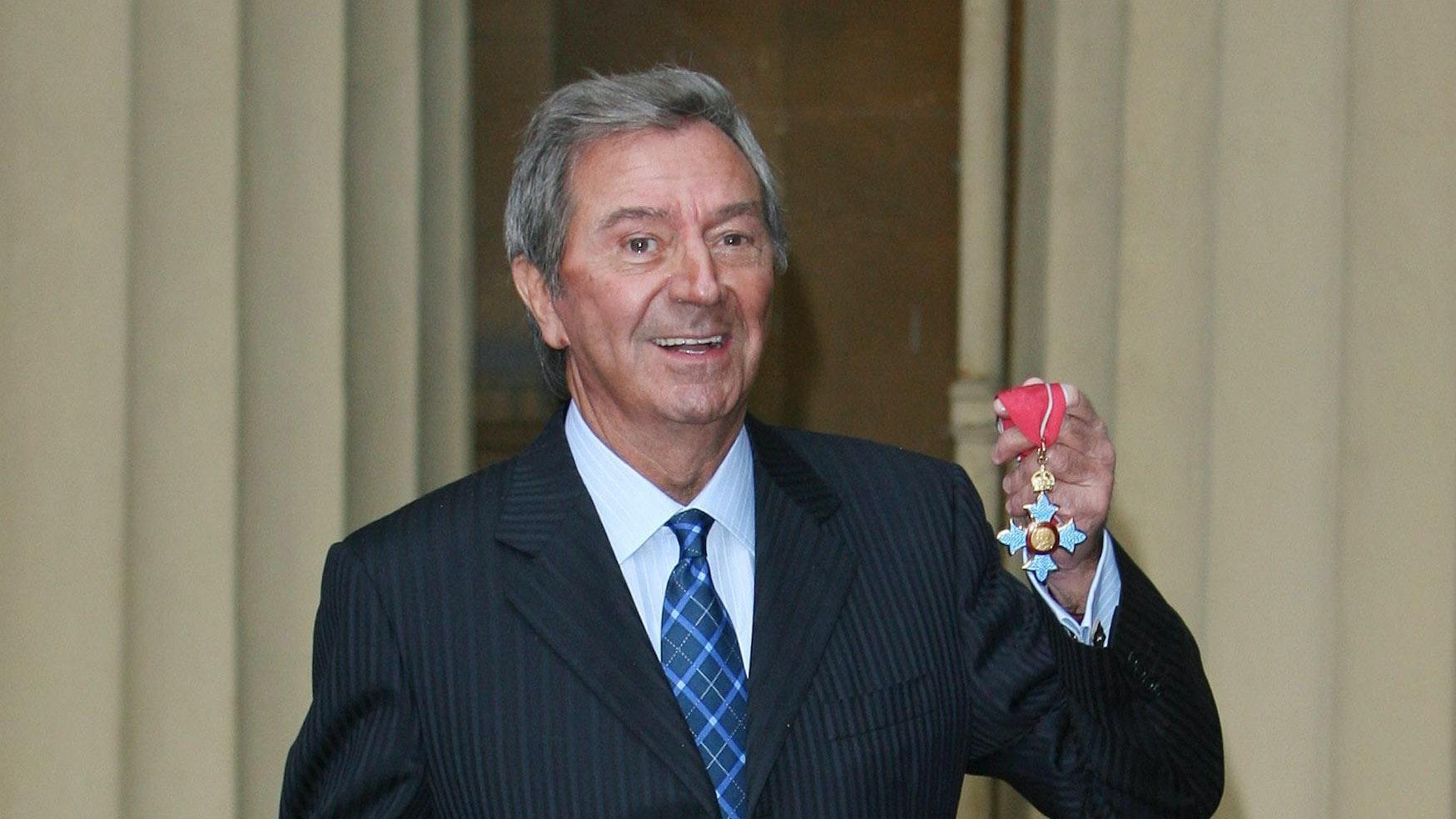 TV star Des O'Connor dies after suffering fall at home