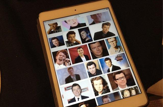 Prank your friends with a Camera RickRoll