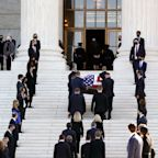 Trump will pay respects at Ruth Bader Ginsburg memorial despite anger over his denial of her dying wish